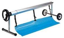 Oprolsysteem oprolapparaat 5 4m 7 1m voor zwembad for Zwembad zelfbouwpakket